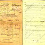 Регистрационный бланк члена ВКП(б) (1936)