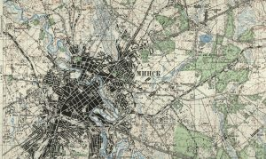 старые карты Беларусь